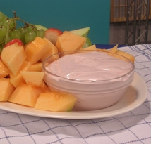 Creamy Cheese Fruit Salad