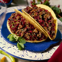 Day of the Dead Spicy Beef Tacos