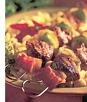 Tropical Lamb Kebabs