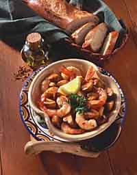 Shrimp in Sherry Sauce