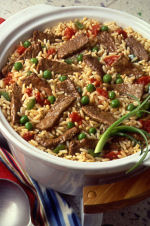 SPANISH BEEF AND RICE