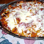 Puffy Pizza Casserole