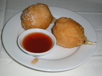 Red and Green Crab Balls