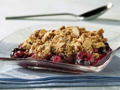 Rhubarb Crescent Crunch