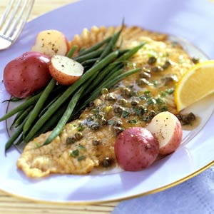 Browned Butter Fish