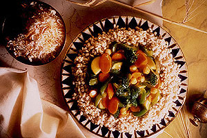 Barley with Vegetables